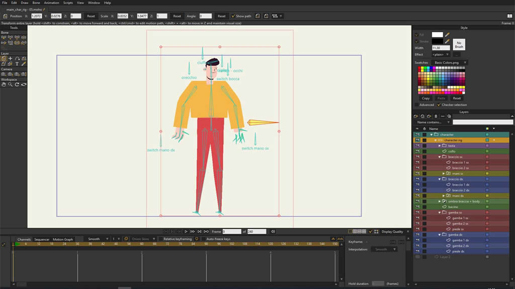 Aiglimmer explainer film, work in progress