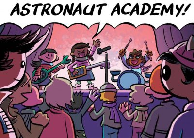 Astronaut Accademy Motion Comic